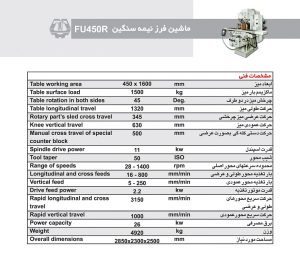 FU450R Specification