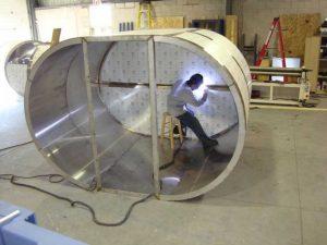 انواع استراکچر و سازه های گروه صنعتی رادیان پارس