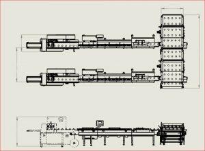 خط بسته بندی و فیدر اتوماتیک انواع نان کیک شرکت ماشین سازی مسائلی