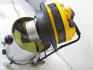 جارو برقی صنعتی یک موتوره ویژه سنباده زنی ساخت شرکت تولیدی و صنعتی آذر جارو