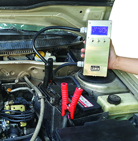 دستگاه تستر باتری و دینام خودرو ساخت شرکت مهندسی موتور آزمای ثمین