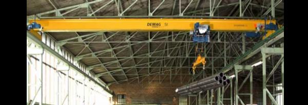 جرثقیل های سقفی تک پل ساخت شرکت مهندسی فیروزا