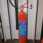 کپسول آتش نشانی 4 کیلوگرمی co2 آریا